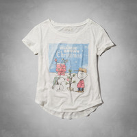 Charlie Brown Christmas Graphic Tee
