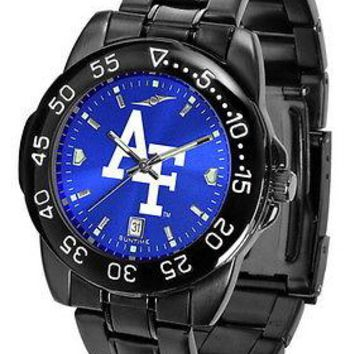 Air Force Falcons Mens Fantom Watch Gunmetal Blue Dial Anochrome