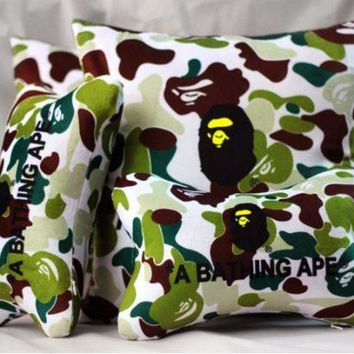 PEAPGZ9 Cars Camouflage Stylish Neck-protected Strong Character Cushion [103809974284]