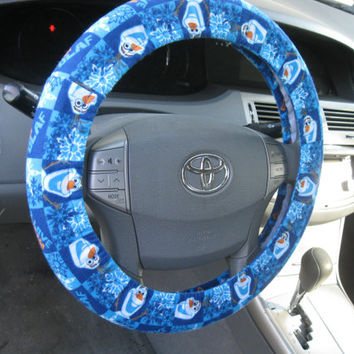Olaf * Frozen * Steering Wheel Cover