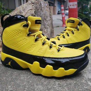 Air Jordan 9 Black Yellow Bumblebee - Best Deal Online