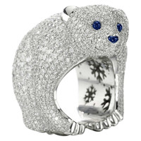 Chopard 150th Anniversary Animal World Collection Ring