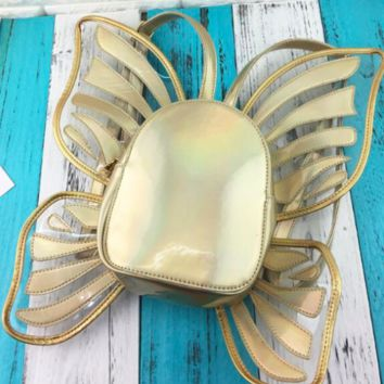 Mariposa Backpack in Gold Dust