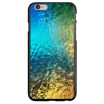 DistinctInk® Spigen ThinFit Case for Apple iPhone or Samsung Galaxy - Colorful Rainbow Waterfall