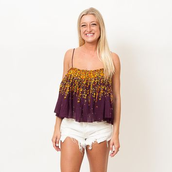 Free People - Instant Crushed Printed Cami