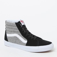 Vans SK8 Hi Wool Sport Shoes - Mens Shoes - Black