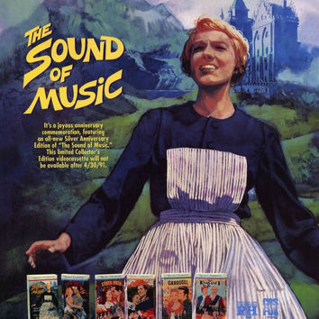 The Sound of Music 11x17 Movie Poster (1973)