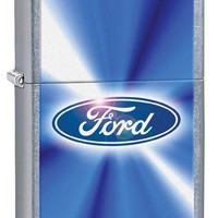 Zippo Ford Street Chrome Lighter