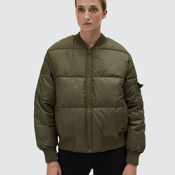 Cheap Monday / Risky Bomber in Mud Green