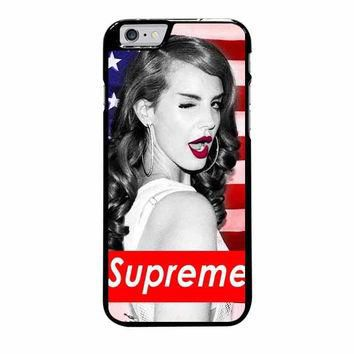 lana del rey supreme american iphone 6 plus 6s plus 4 4s 5 5s 5c 6 6s cases