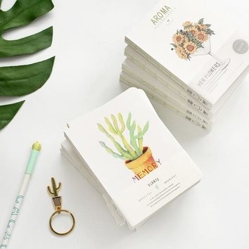 Floral Plant Cover Small Journal Randomly Picked Set of 3