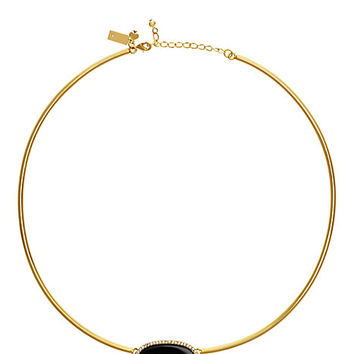 Kate Spade Empire Pave Collar Pendant Black ONE