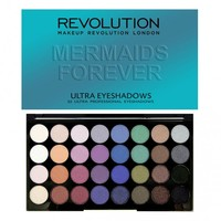 Ultra 32 Shade Eyeshadow Palette MERMAIDS FOREVER - PALETTES
