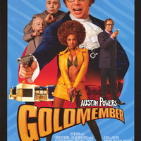 Austin Powers Goldmember 2002 Movie Poster 22x34