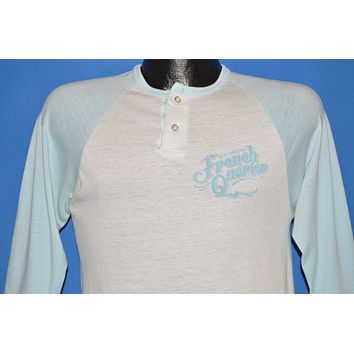 80s French Quarter New Orleans Henley t-shirt Small