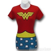Wonder Woman Symbol Costume T-Shirt