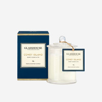 Coney Island | Mini Burnt Sugar & Fig Candle | Glasshouse Fragrances