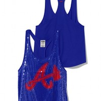 Atlanta Braves Bling Racerback Tank