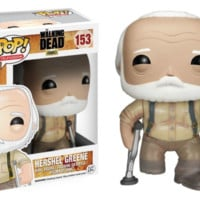 Funko - Walking Dead Hershel Pop! Vinyl Figure #153 Vinyl Action Figure a F01