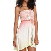 Roxy Fabric Mix Strapless Dress at PacSun.com