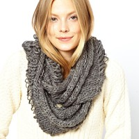 ASOS | ASOS Hand Knit Ladder Snood at ASOS