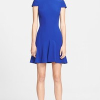 Women's Alexander McQueen Leaf Crepe Dress