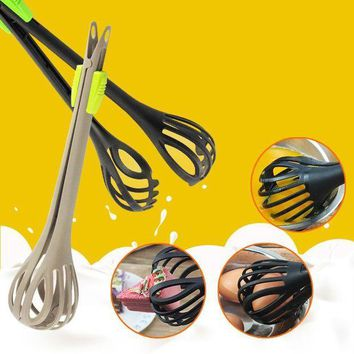 CREYLD1 Plastic Egg Beater Hand Blender Multi-function Whisk   Mixer Egg Bread Clip Baking Cooking Tools Kitchen Accessories 2D