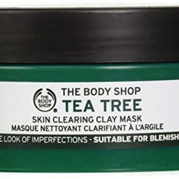 The Body Shop Tea Tree Face Mask, 3.85 Ounce (Packaging May Vary)