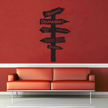 Harry Potter Road Sign - Wall Decal$19.95
