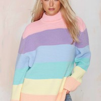 UNIF Front Oversized Sweater
