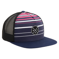 NYC Stripe Mesh Adjustable Hat