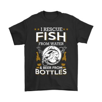 ESBCV3 I Rescue Fish From Water And Beer From Bottles Shirts
