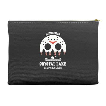 crystal lake camp counselor Accessory Pouches