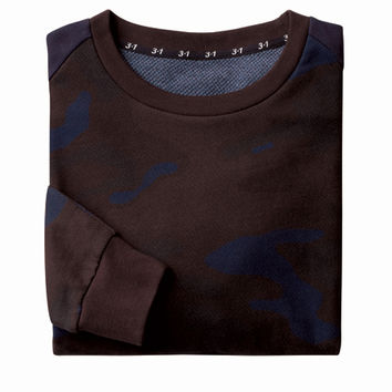 Men's Camo Sweatshirt (3.1 Phillip Lim for Target)