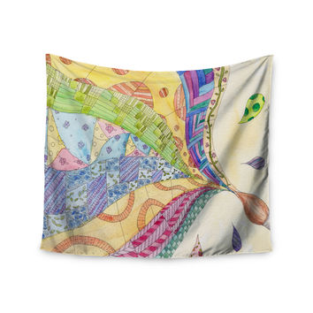 """Catherine Holcombe """"The Painted Quilt"""" Wall Tapestry"""