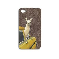 Taxi Cab Llama New York City Case iPhone Cool iPod Cover Animal Phone Cute Funny