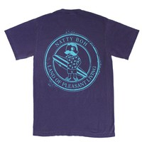 Natty Boh Surfer Dude Land of Pleasant Living (Grape w/ Island Blue Ink) / Shirt