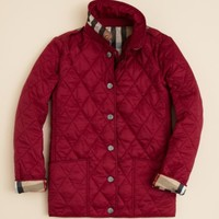 Burberry Girls' Mini-Pirmont Quilted Jacket - Sizes 4-14 | Bloomingdales's