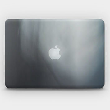 Transparent Skin Sticker Decal for MacBook Air 11' 13' MacBook Pro 13' 15' - Gray Spase