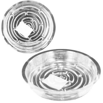 Wide Transparent Planter Saucer Set Of 24 Pack