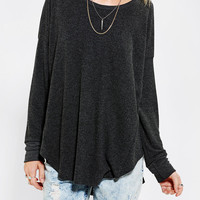 Urban Outfitters - Sparkle & Fade Cozy Drop-Shoulder Top