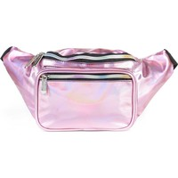 Holographic Pink Fanny Pack