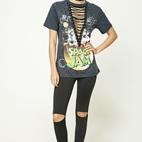 Looney Tunes Lace-Up Tee