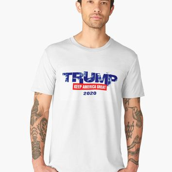 'PRESIDENT DONALD TRUMP 2020 KEEP AMERICA GREAT GIFT ITEMS' Men's Premium T-Shirt by EmilysFolio