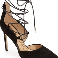 Sam Edelman 'Helaine' Ghillie Pointy Toe Pump (Women) | Nordstrom