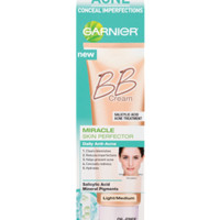Garnier Miracle Skin Perfector BB Daily Anti-Acne - Light/Medium