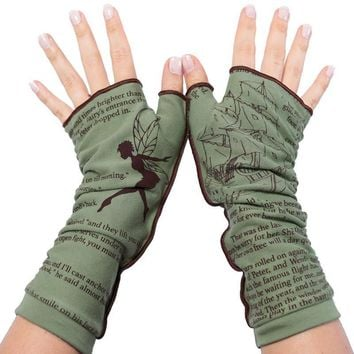 Peter Pan Writing Gloves
