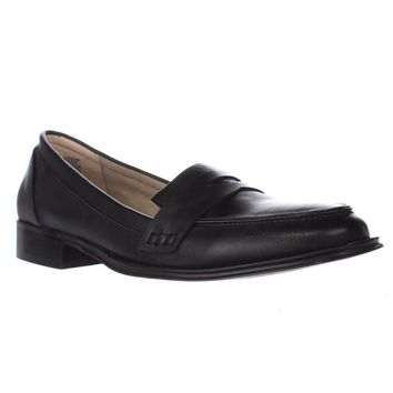 Wanted Campus Penny Loafers, Black, 7.5 US / 37.5 EU