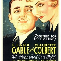 It Happened One Night 27x40 Movie Poster (1934)