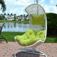 Clove - Balance Curve Porch Swing Chair - Model - Y9091WT